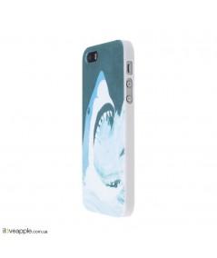 """Чехол для iPhone 6/6s """"Белая акула"""""""