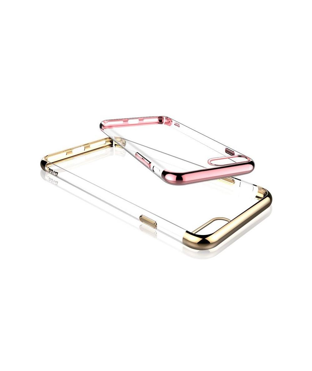 Силиконовый чехол с блёстками для iPhone 6/6s