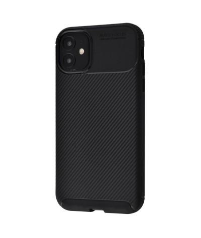 Чёрный карбоновый чехол для iPhone SE 5/5s